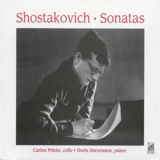 Shostakovich, D.: Cello Sonata, Op. 40 / Viola Sonata, Op. 147 (prieto, Stevenson)