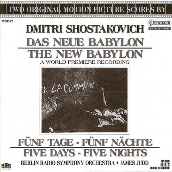 Shostakovich, D.: New Bablypn / 5 Days - 5 Nights (berlin Radio Symphojy, Judd)