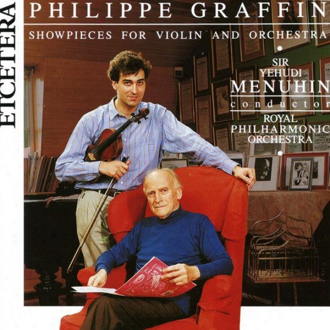 Showpieces For Violin And Orchestra, Yehudi Menuhin, Royal Philharmonic Orchestra, Graffin