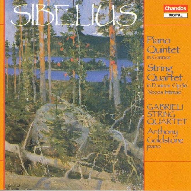 """""""sibelius: Piano Quintet In G Minor / String Quartet In D Minor, """"""""voces Intimae"""""""