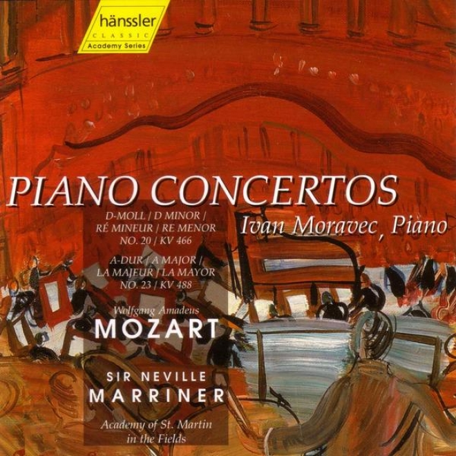 Sir Neville Marriner Anniversary Edition 10 Cd Set: Mozart - Piano Concertos Nos. 20 & 23
