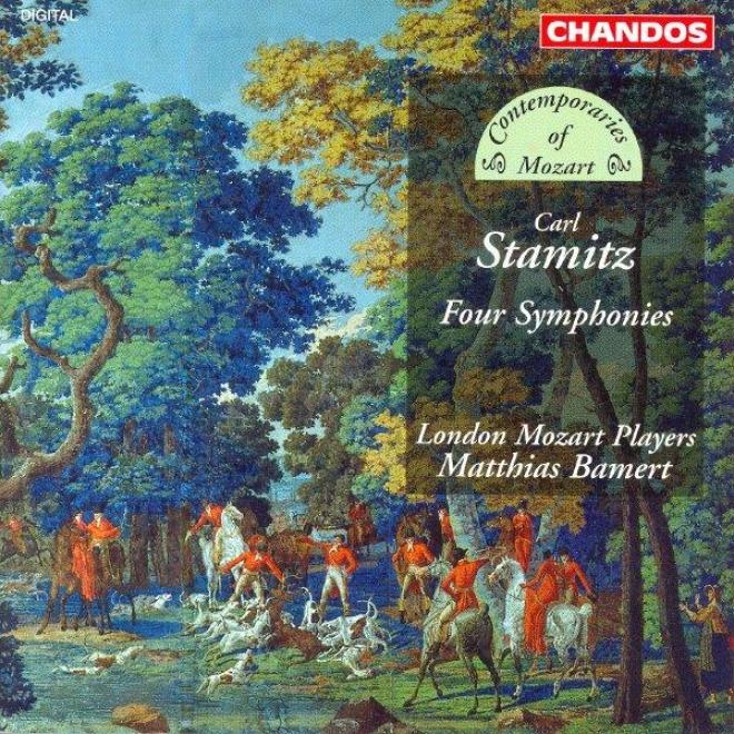 """""""stamitz, C.: Symphonies In F Major / C Major / G Major / D Major, """"""""la Chasse"""""""