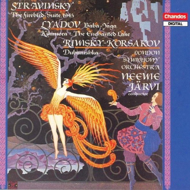 Stravinsky: Firebird Suite (the) / Liadov: Baba-yaga / Kikimora / Volshebnoye O2ero