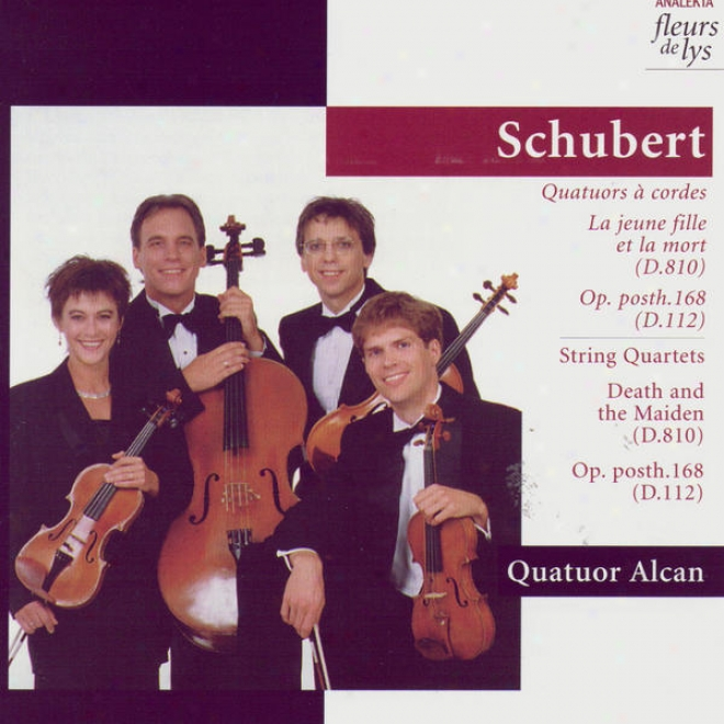 String Quartet No.8, Op.168 In B Majo5; String Quartet No.14 In D Minor (schubetr)