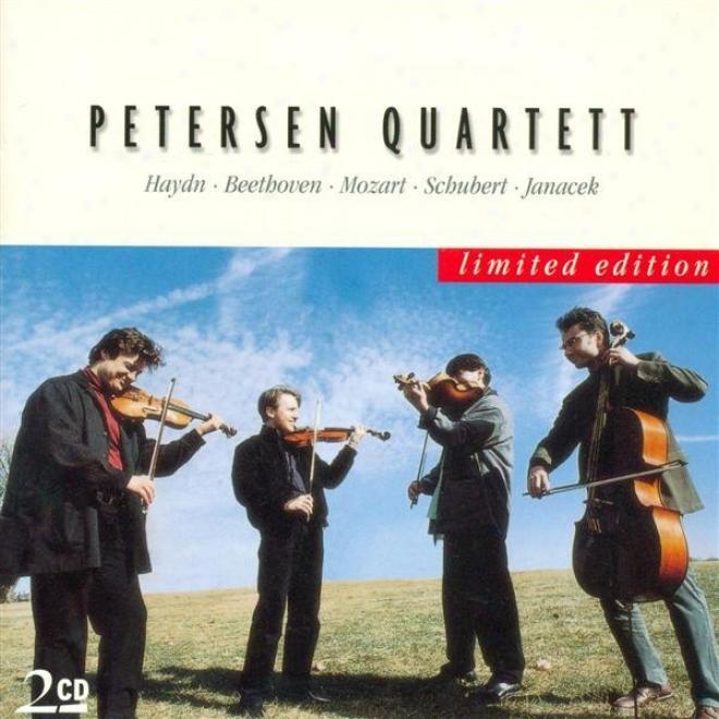 String Quartets - Beethoven, L. Van / Haydn, F.j. / Mozart, W.a. / Schubert, F. / Janacek, L. (petersen Quartet)