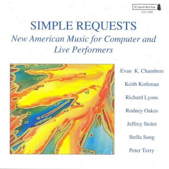 Sung, S.: Mobiles / Terry, P.: Aria And Accidental Music / Oakes, R.:: Blues Danube / Kothman, K.: Interrupted Dances (kothman)