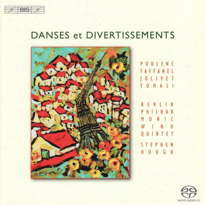 Taffanel, P.: Wind Quintet/poulenc, F.: Sextet/jolivet, A.: Serenade/tomasi, H.: 5 Danses (berlin Philharmonic Wind Quintet)