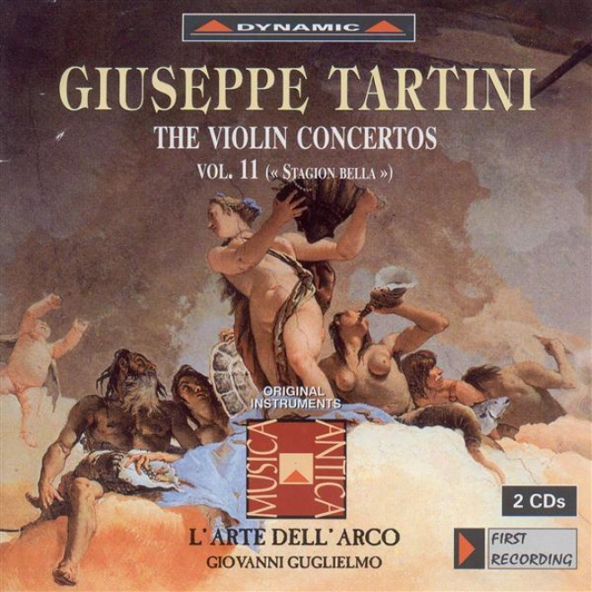 Tartini, G.: Fiddle Concertos, Vol. 11 (l'arte Dell'arco) - D. 14, 23, 40, 41, 70a, 77, 87, 113