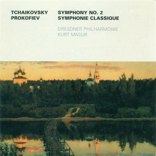 Tcgaikovsky, P.i.: Consonance No. 2 / Prokofiev, S.: Symphony No. 1 (dresden Philharmonic, Masur)