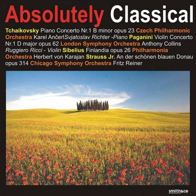 Tchaikovsky: Piano Concerto No. 1 - Paganini: Violin Concerto No. 1, Et Al.