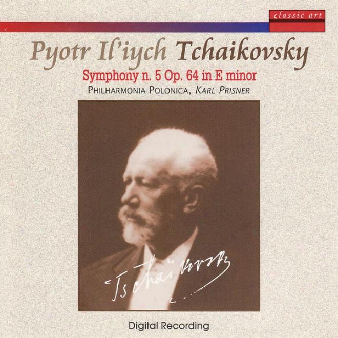 """""""tchaikovsky: Symphonies N. 5 Op. 64 In E Minod & N. 6 Op. 74 """"""""pathã©tique"""""""" In B Minor"""""""