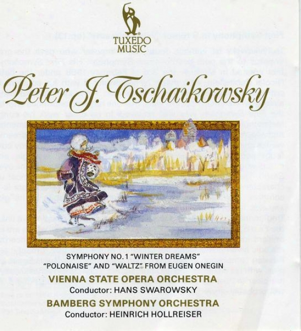 """tchaikovsky: Symphony No.1 In G Minor, Op.13, """"winter Dreams""""; Polonaise And Waltz From """"eugen Onegin"""