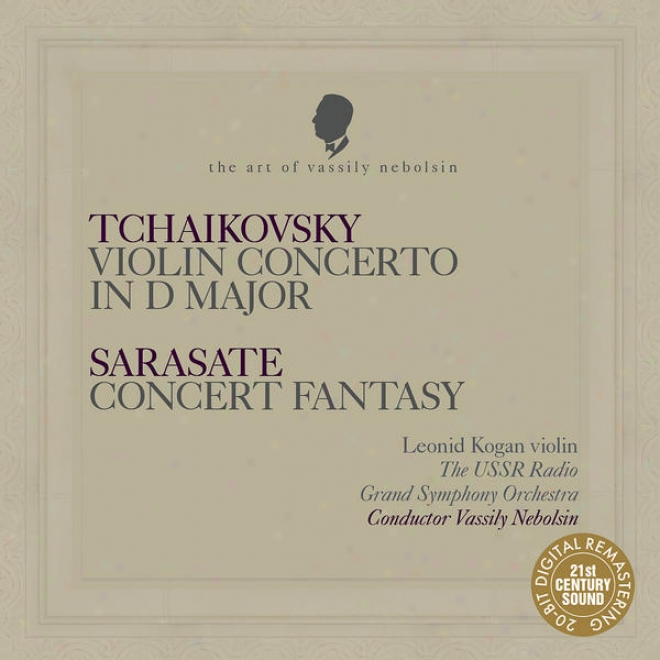 """tchaikovsky: Violin Concerto In D Major - Sarasate: Agreement Fantasy On Themes Fro mBizet's """"carmen"""