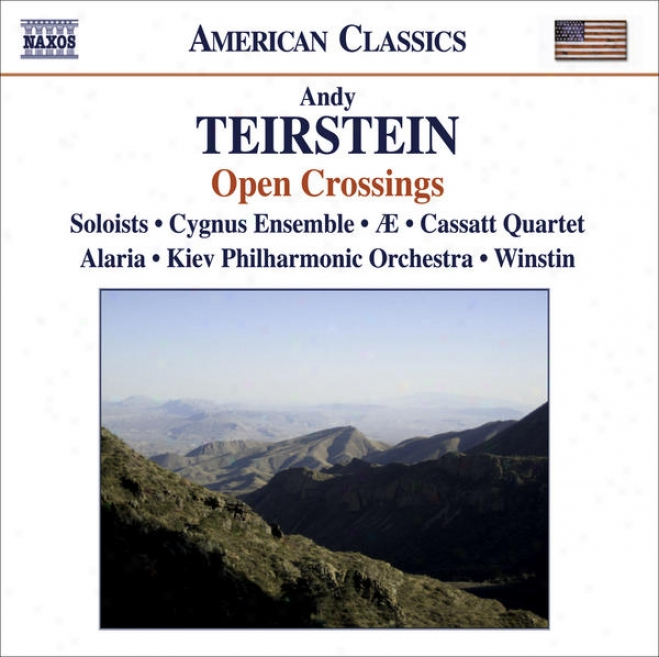 Teirstein, A.: Kopanitza / Invention / What Is Left Of Us / Suite / Maramures (open Crossings - Music By Teirstein)
