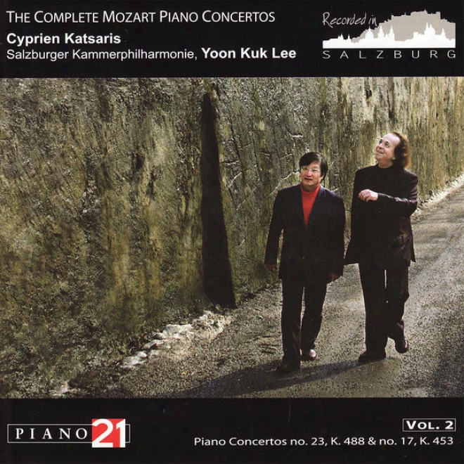 The Complete Mozart Piano Concertos, Vol. 2, No. 23, K. 488 & No. 17, K. 453