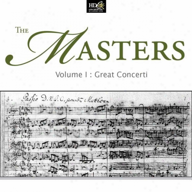 The Masters Vol. 1: Great Concerti: Haydn, Mozart And Beethoven: Works For Solo Instrument And Orchestra