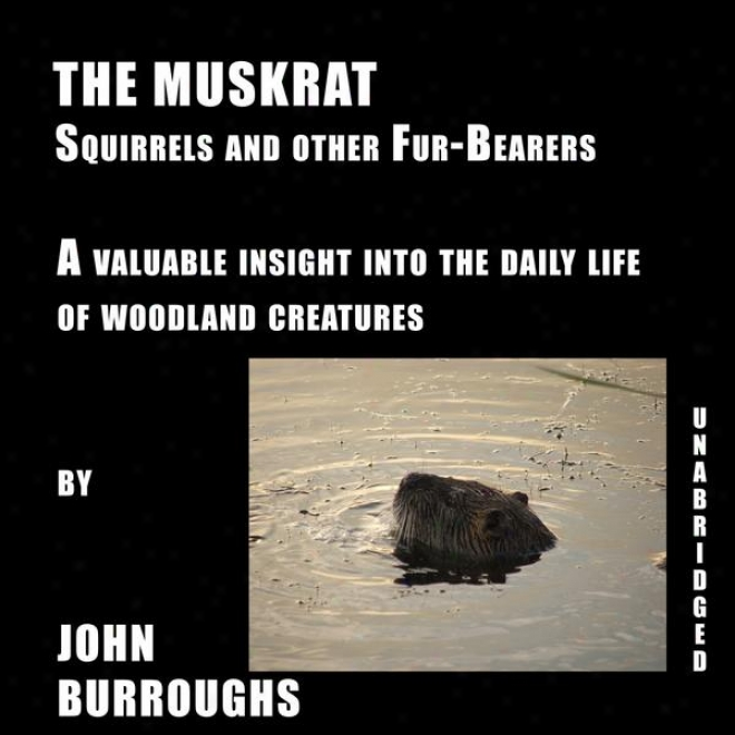 The Muskrat (unabridged), A Valuable Insight Into The Diurnal Life Of Woodland Creatures, By John Burroughs