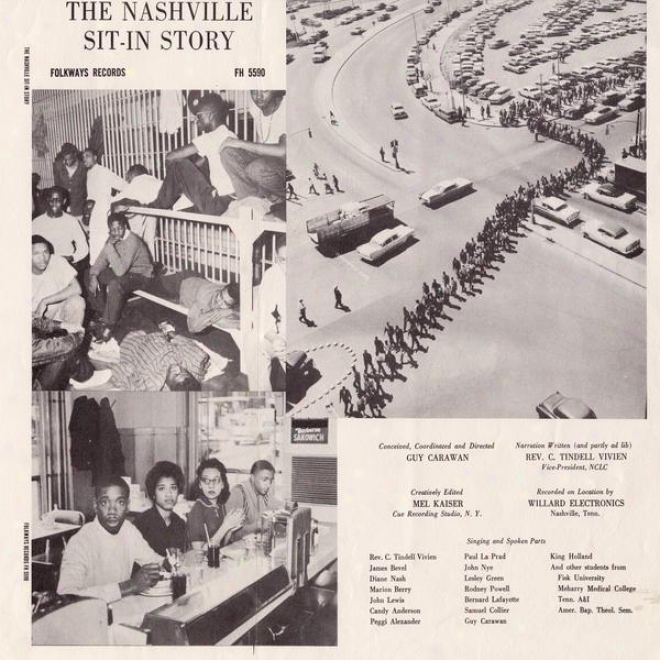 Th3 Nashville Sit-in Story: Songs And Scenes Of Nashville Lunch Counter Desegregation (by The Sit-in Participants)