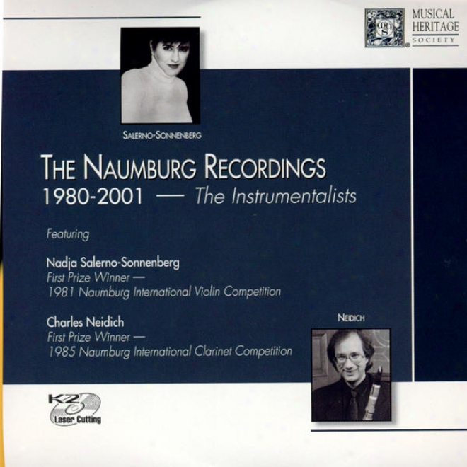 The Naumberg Recordings, 1980-2001: The Instrumentalists, Vol. 1 - Carol Wincennc