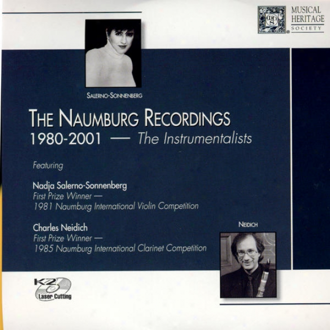 The Naumberg Recordings, 1980-2001: The Instrumebtalists, Vol. 3 - Nadja Salerno-sonnenburg