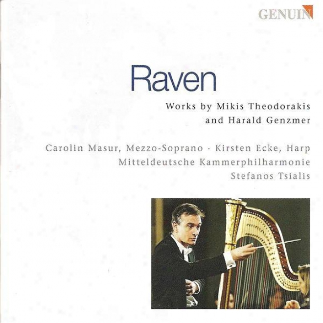 Theodorakis, M.: Raven / Adagio / Genzmer, H.: Play on the ~ Concerto / Fantasia For Harp (masur, Ecke)