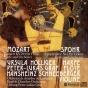 Mozart: Konzert Kv 299 Fã¼r Flã¶te, Harfe Und Orchester / Spohr :Concertante Nr. I Fã¼r Violine, Harfe Und Orchester