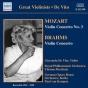 Mozart, W.a.: Violin Concerto No. 3 / Brahms, J.: Violin Concerto (de Vito, Beecham, Van Kempen) (1941, 1949)