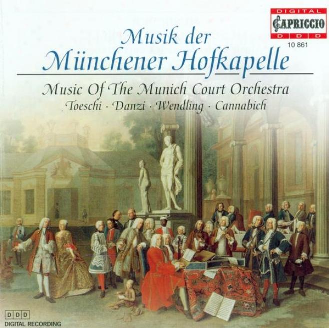 Toeschi, C.j.: Symphony In D Major / Danzi, F.: Piano Concerto In E Flat Major / Wendling, J.b.: Flute Concerto, Op. 4 (hammer)