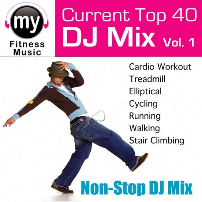 Top 40 Dj Mxi Vol 1 (non-stop Mix For Walking, Jlgging, Elliptical, Stairs Climber, Treadmill, Biking, Exercise)