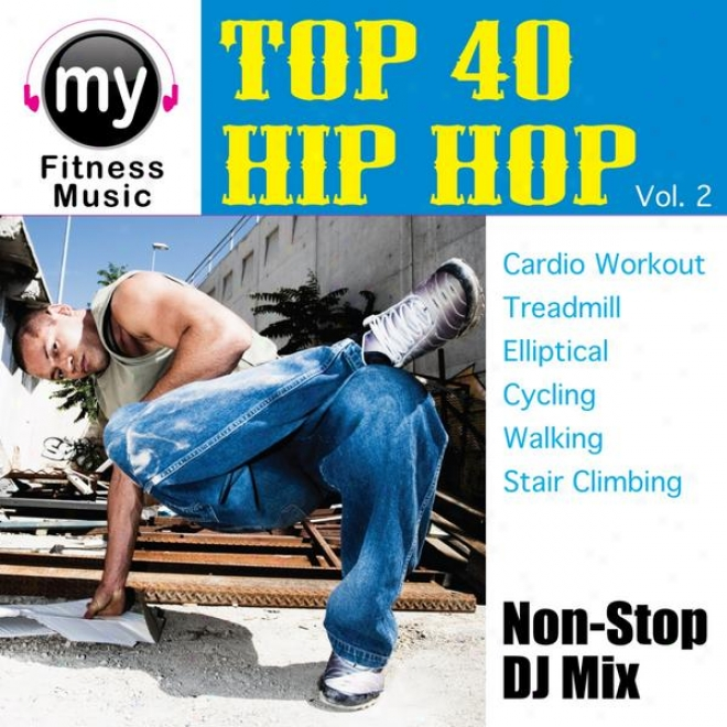 Top 40 Funk & Rap Vol 2 (non-stop Mix For Treadmill, Stari Climber, Elliptical, Cycling, Walking, Exercise)