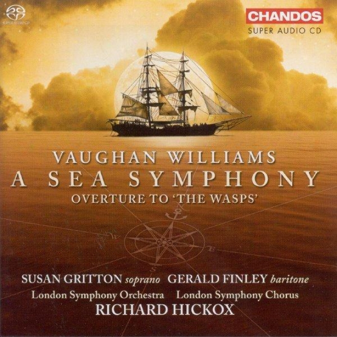 """vaughan Williams: Symphony No. 1, """"aS ea Symphony"""" / The Wasps: Overture"""