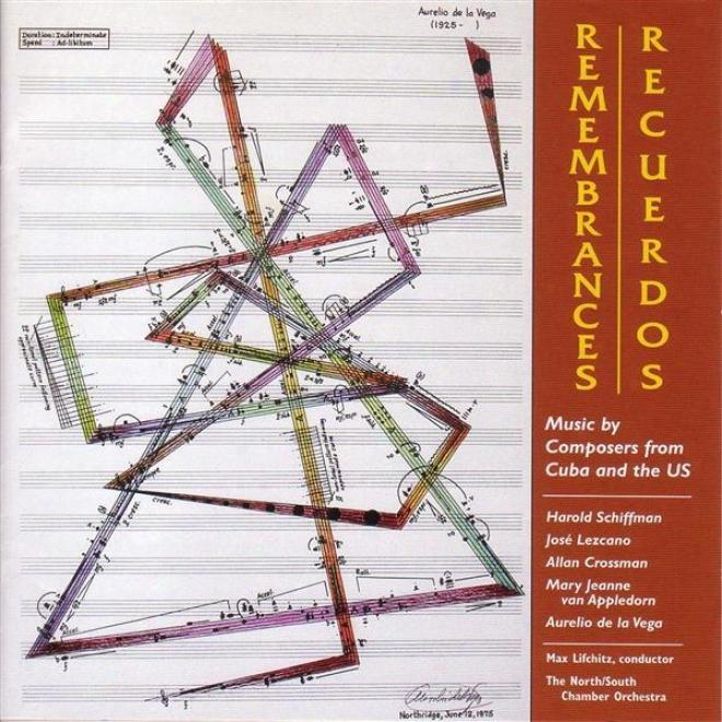 Vega, A. De La: Variacion Del Recuerdo / Schiffman, H.: Flute Concertino / Appledorn, M.j.v.: Soundscaprs / Crossman, A.: Flyer