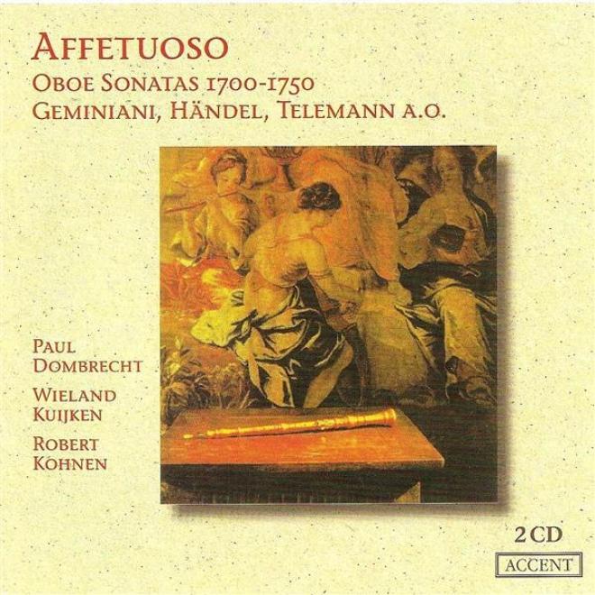 Vincent, T.: Oboe Sonata No. 2 / Babell, W.: Oboe Sonata No. 1 / Handel, G.f.: Oboe Sonata No. 3 (affetuoso) (dombrech)