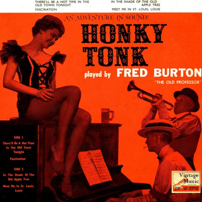 """vintage Belle Epoque N⺠30 - Eps Collectors, """"honky Tonk tA The Upright"""