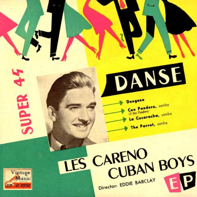"""vintage Dance Orchestras N⺠55 - Eps Collectors """"la Cucaracha, Samba, Samba, Samba"""