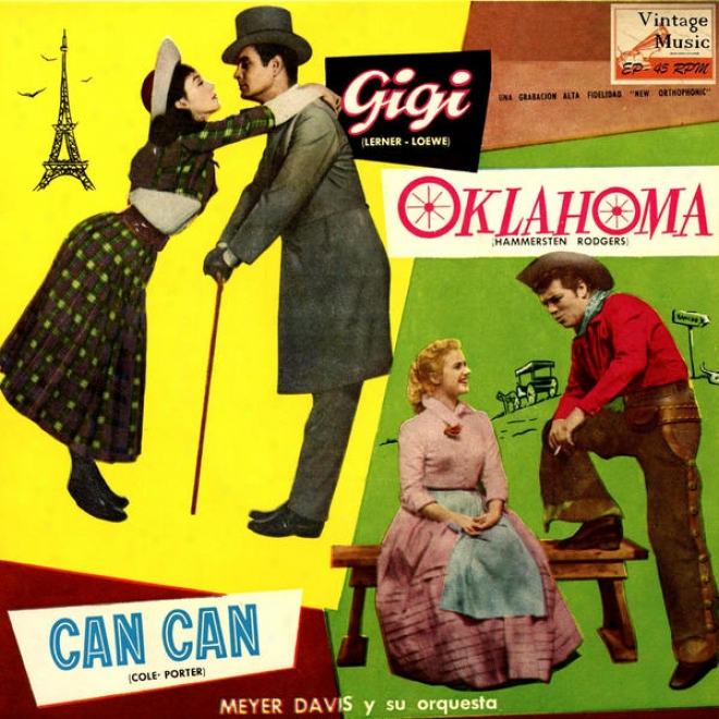 """""""vintage Dance Orchestras N⺠57 - Eps Collectors From The Films: """"""""igi"""""""", """"""""oklahoma"""""""", """"""""can Can"""""""