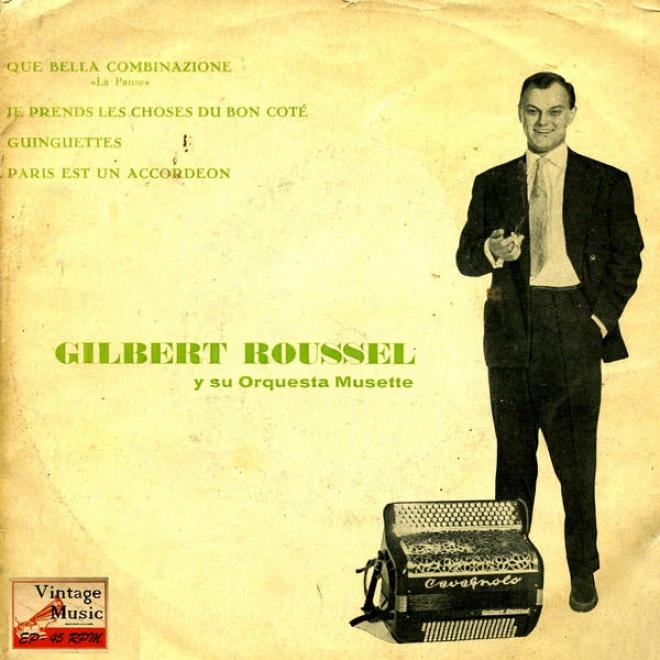"""""""vintage Dance Orcheestras N⺠62 - Eps Collectors """"""""que Bella Combinazione"""""""" Accordion"""""""