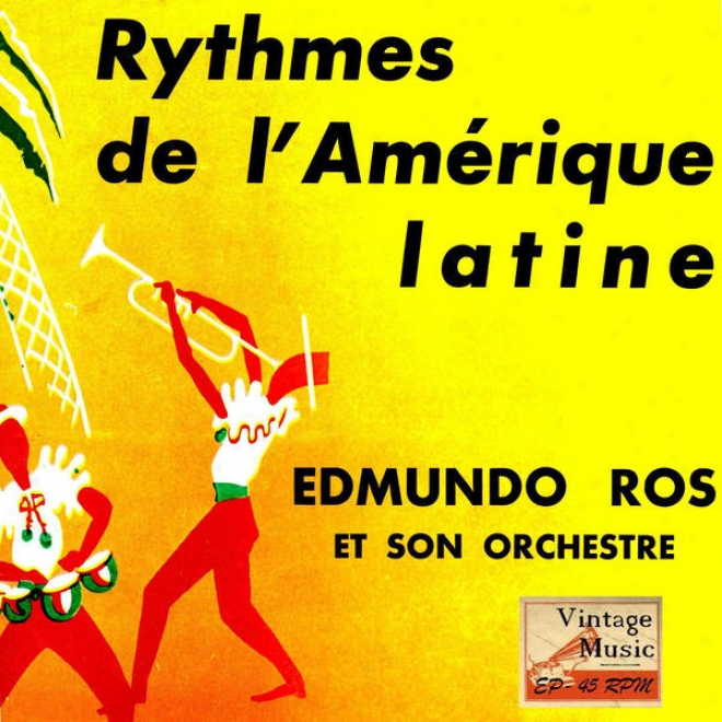 """vintage Dance Orchestras N⺠71 - Eps Collectors """"rytjmes From Latin America"""