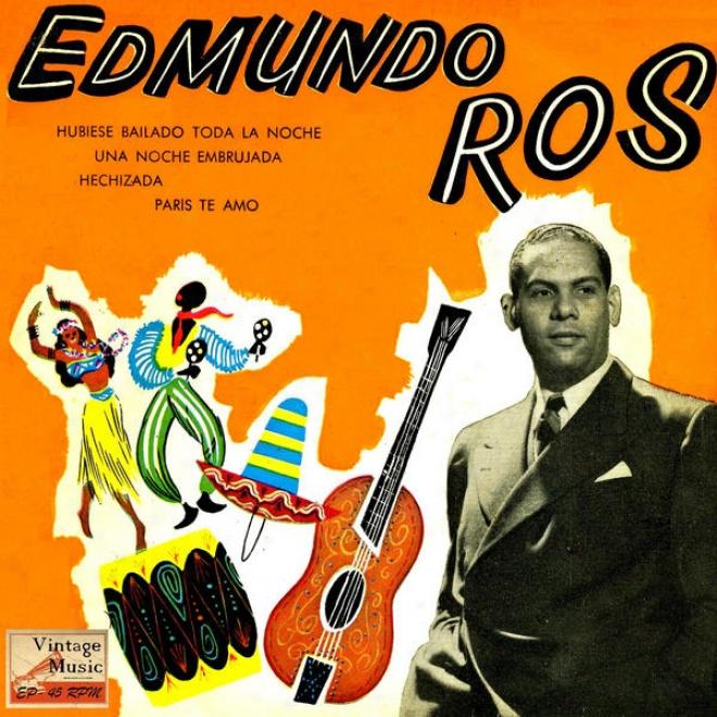 """""""vintage Dance Orchestras N⺠73 - Eps Collectors """"""""edmundo Ros En Broadway"""""""