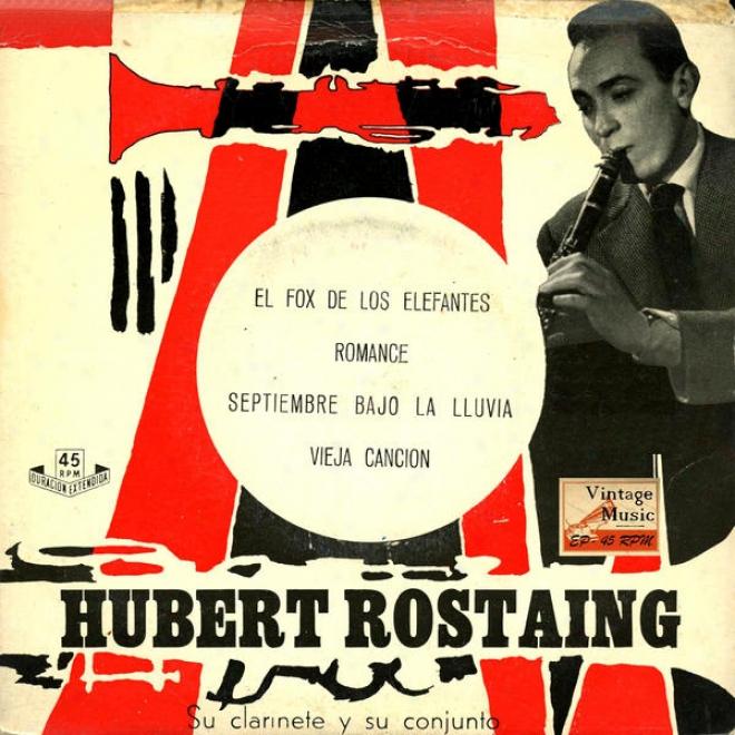 """""""vintage Dance Orchestras Nâº28 - Eps Collectors """"""""su Clarinete Y S uConjunto"""""""