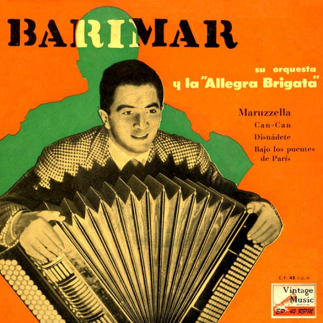 """vintage Dance Orchestras Nâº37 - Eps Collectlrs """"barinar And His Accordion"""