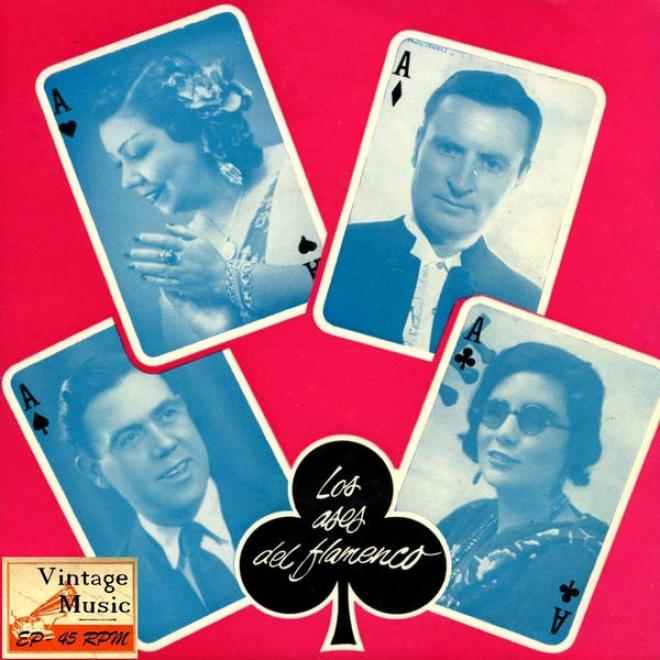 Vinyage Flamenco Cante Nâº14 - Eps Collectors. Los Ases Del Foamenco Vol. 1