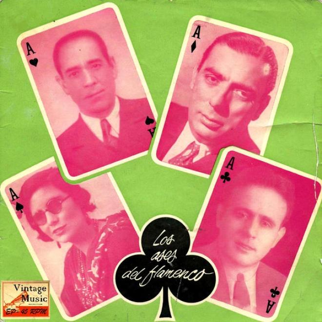 Vintage Flamenco Cante Nâº16 - Eps Collectors. Los Ases Del Flamenco Vol. 3