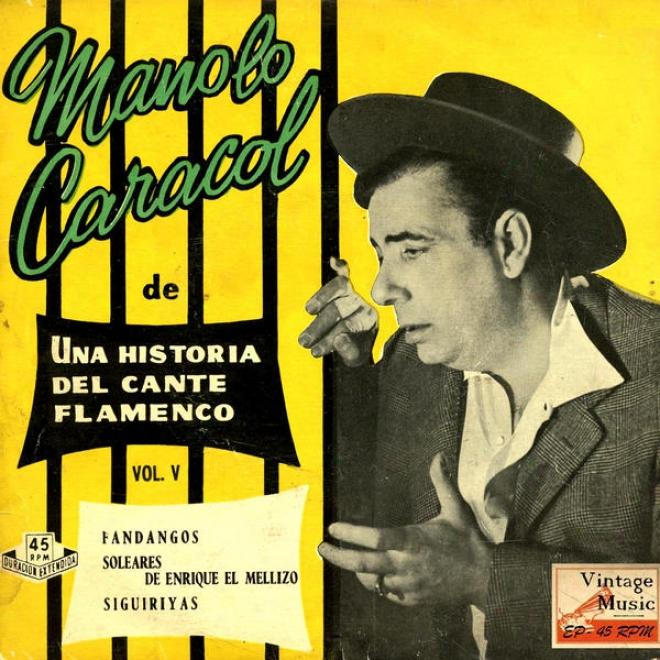 """""""vintage Flamenco Cante Nâº52 - Eps Collectors """"""""historia Del Cante Flamenco"""""""