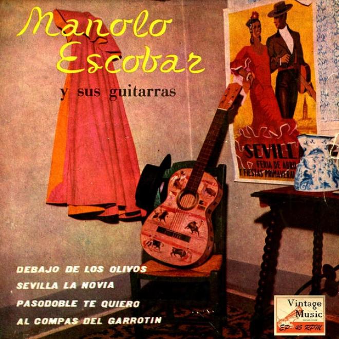 """""""vintage Flamenco Rumga N⺠9 - Eps Collectors """"""""pasodoble Te Quiero"""""""" (gipsy)"""""""