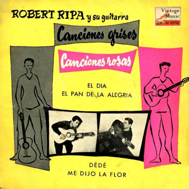 """""""vintage French Song Nâº11 - Eps Collectors """"""""canciones Grises - Canciones Rosas"""""""