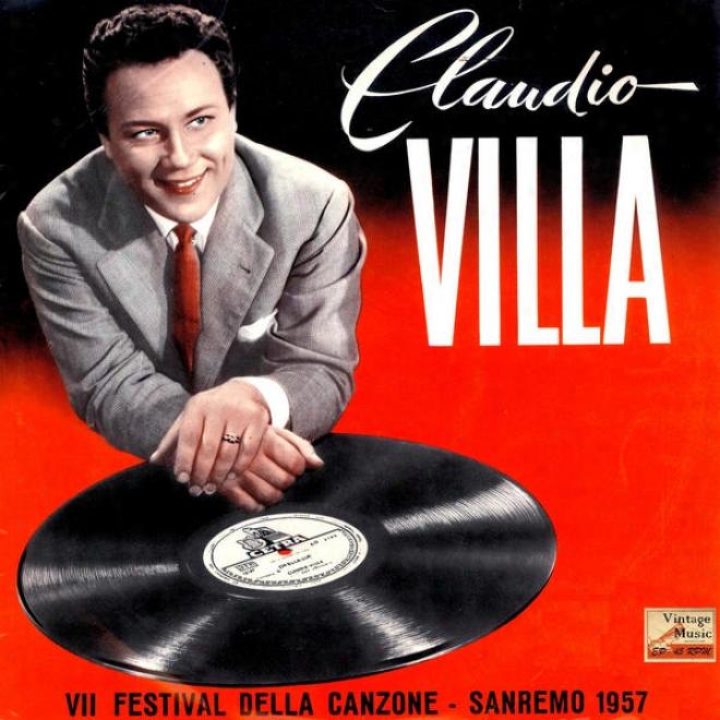 """vintage Language of Italy Song N⺠20 - Eps 10"""" Collectors """"7⺠Festival Della Canzone San Remo 1957"""