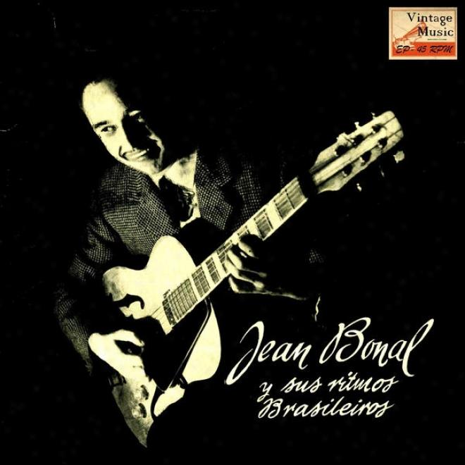 """""""vintage Jazz N⺠26 - Eps Collectors """"""""jan Bonal Y Sus Ritmos Brasileã±os"""""""