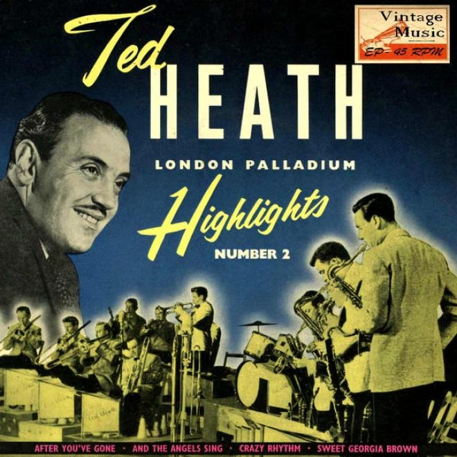"""""""vintage Jazz Nâº18 - Eps Collectors """"""""ted Heath London Palladium Highlights"""""""" November 1955"""""""