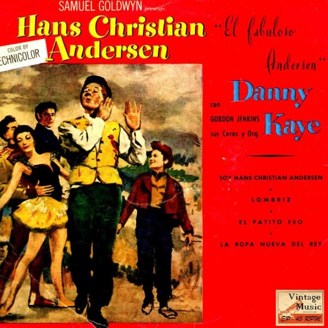 """""""vintage Movies N⺠7 - Eps Collectors O.s.t: """"""""el Fabulosso Andersen"""""""" """"""""hans Inhabitant of Christendom Andersen"""""""